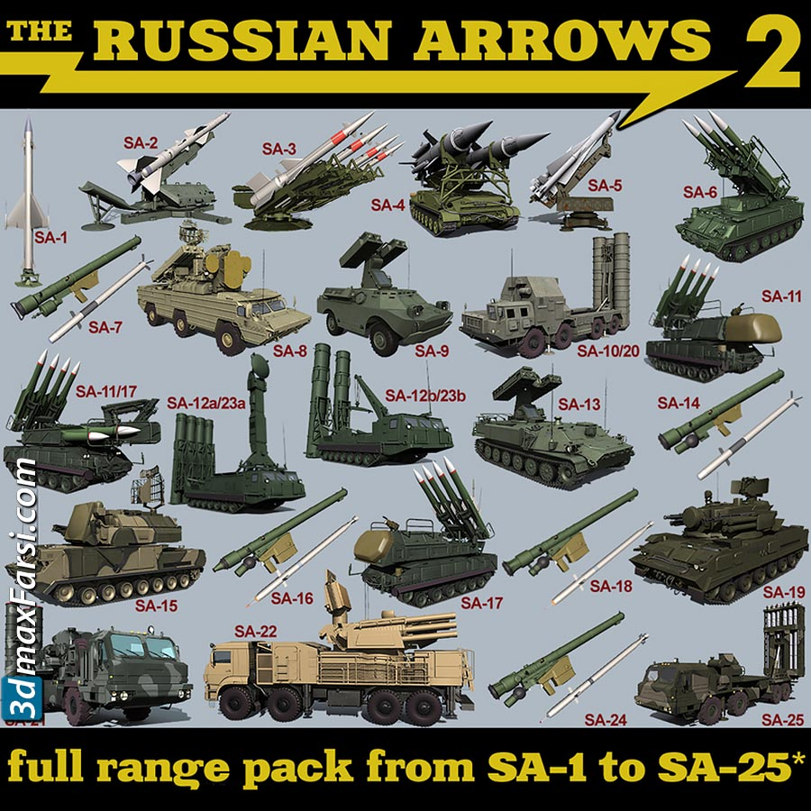 TurboSquid – The Russian Arrows 2 free download