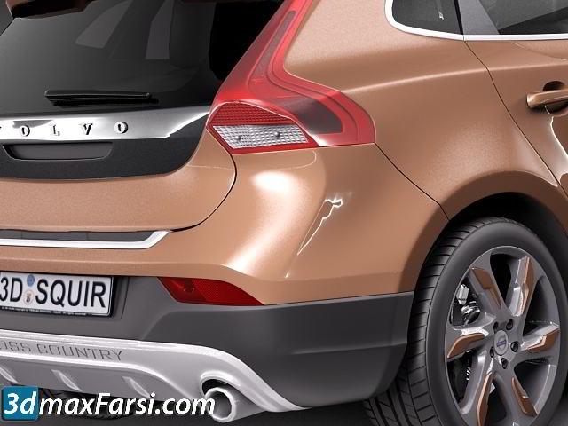 TurboSquid - Volvo V40 Cross Country 2013