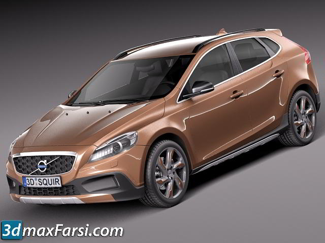 TurboSquid - Volvo V40 Cross Country 2013 free download