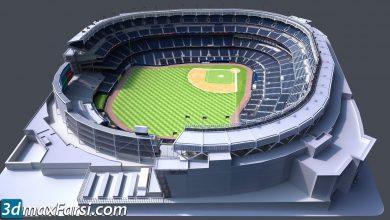 TurboSquid – Yankee Stadium with Animated Audience
