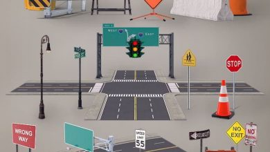 PixelSquid – Roads And Highways Collection free download
