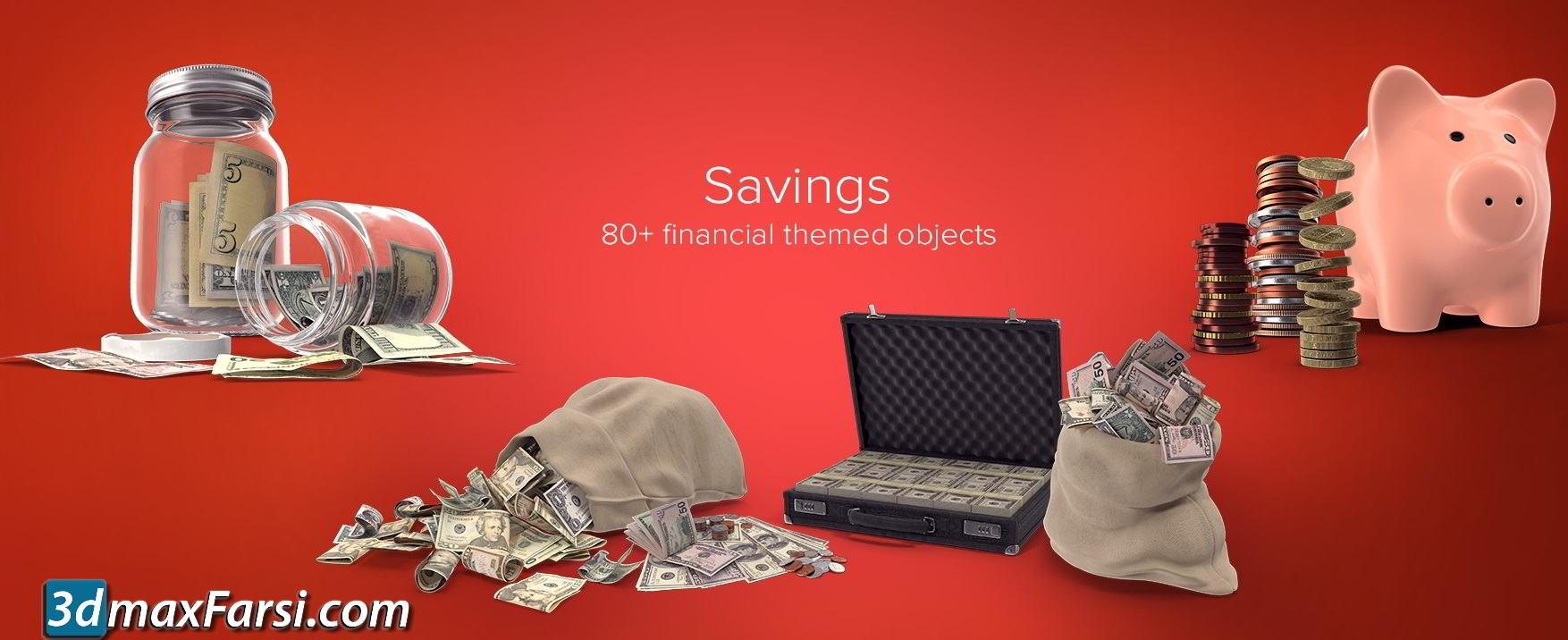 PixelSquid – Savings Collection free download