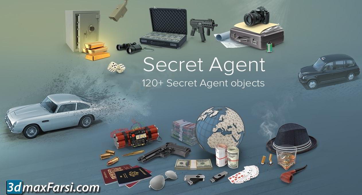 PixelSquid – Secret Agent Collection free download