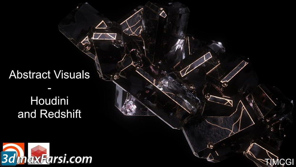 CGCircuit – Abstract Visuals – Houdini and Redshift free download
