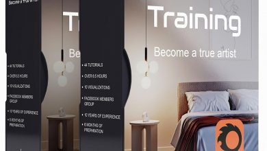 Archviz training Corona by Black Balance free download