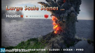 CGCircuit – Large Scale Scenes in Houdini & Redshift free download