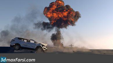 CGCircuit – Cinema4D Car Destruction Part 1 free download