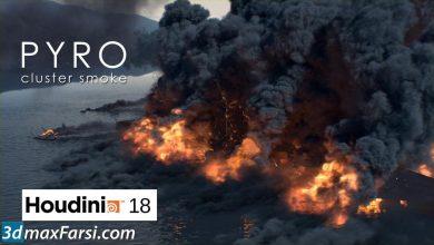 CGcircuit – Houdini FX series. Pyro: cluster smoke free download