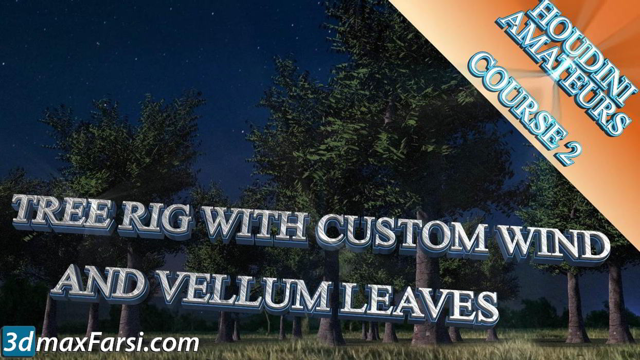 CGCircuit – Houdini Tree Rig With Vellum Leaves free download