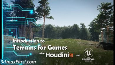 CGCircuit – Intro to Terrains in Houdini and Unreal free download