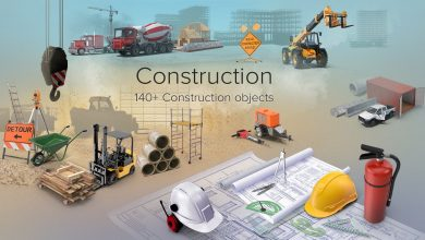 PixelSquid – Construction Collection free download
