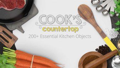 PixelSquid – Cooks Countertop Collection free download