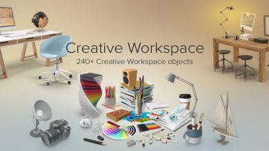 PixelSquid – Creative Workspace Collection free download