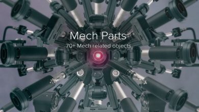 PixelSquid – Mech Parts Collection free download