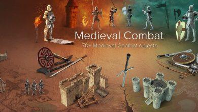 PixelSquid – Medieval Combat Collection free download