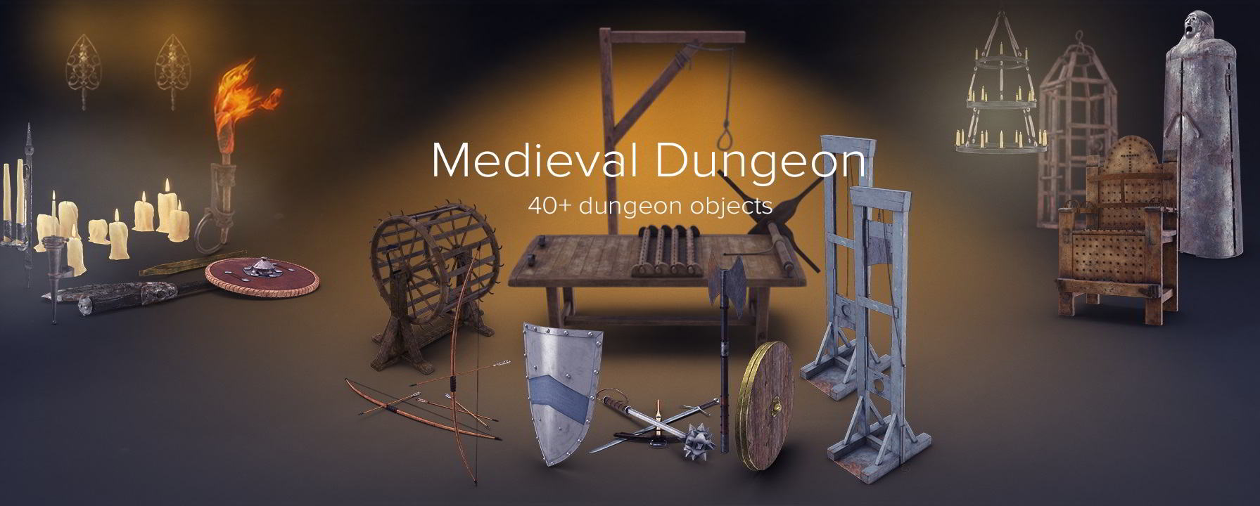 PixelSquid – Medieval Dungeon Collection free download
