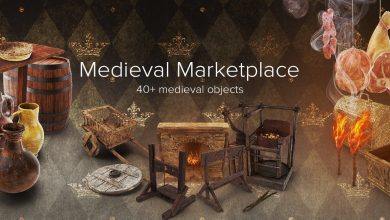 PixelSquid – Medieval Marketplace Collection free download