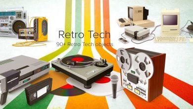 PixelSquid – Retro Tech Collection free download