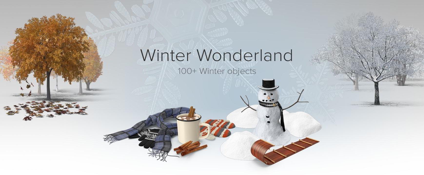 PixelSquid – Winter Wonderland Collection free download