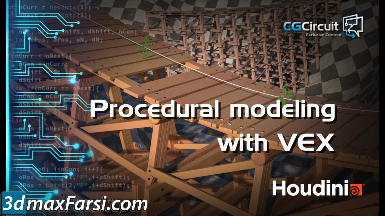 CGCircuit – Procedural Modeling with VEX free download