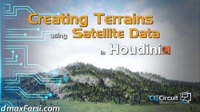 CGCircuit – Terrains using Satellite Data in Houdini free download
