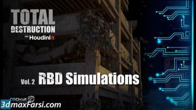 CGCircuit – Total Destruction: Vol.2 RBD Simulations free download