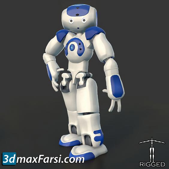 TurboSquid – HD Robot NAO Rigged free download