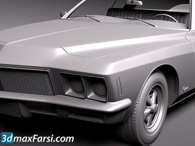 TurboSquid – Buick Riviera GS Boattail 1971