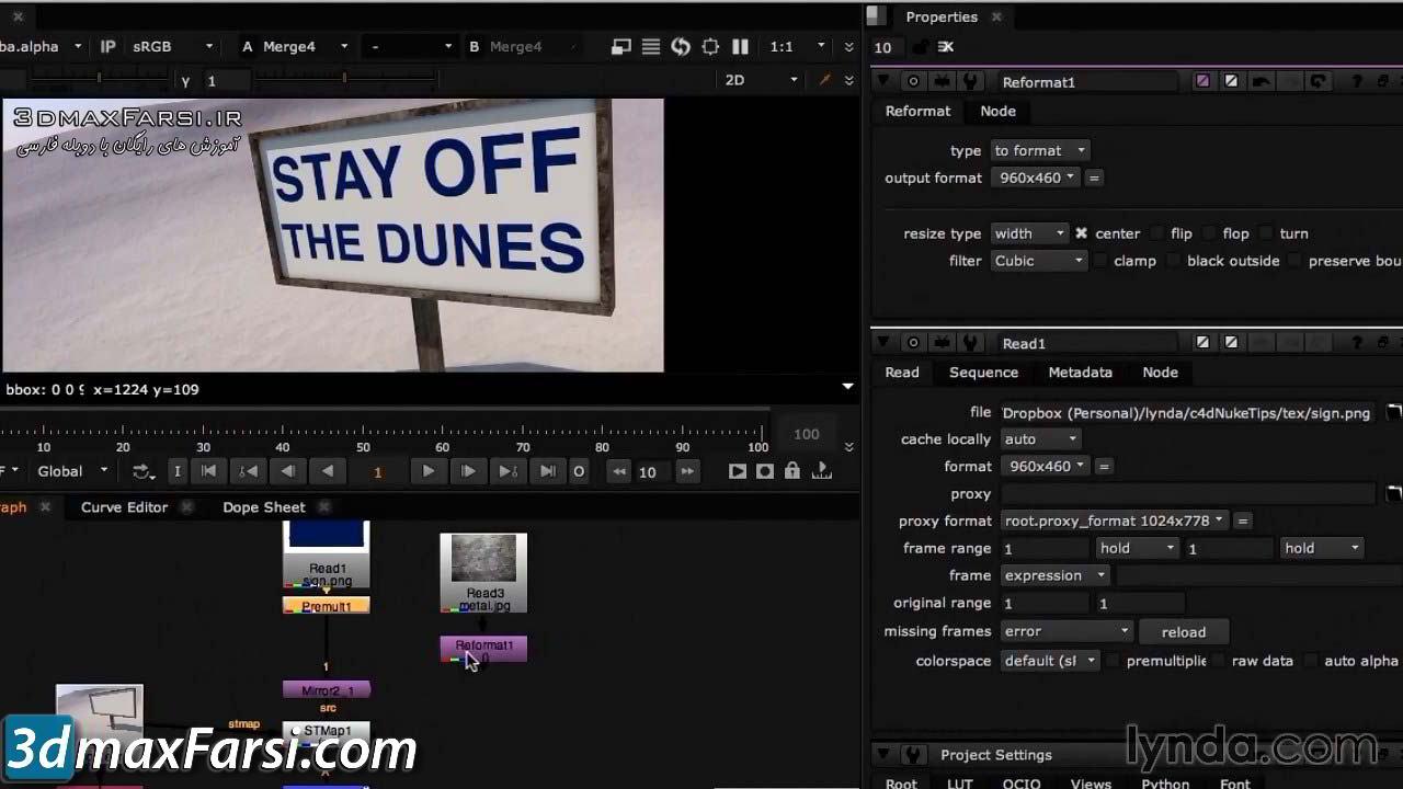 Lynda - CINEMA 4D Rendering Tips for NUKE free download