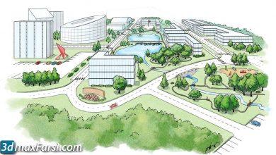 Digital Tutors – Conceptualizing Landscape Designs in Photoshop