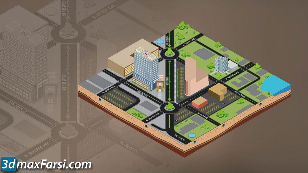 Digital Tutors – Creating 3D Maps Using Isometric Projection in Illustrator free download