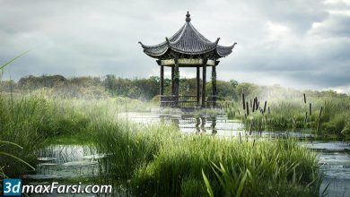 digital tutors Creating a Swampy Landscape Using V-Ray Scatter in Maya free download