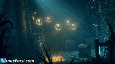 Creating Cinematic Underwater Lighting in Maya free download