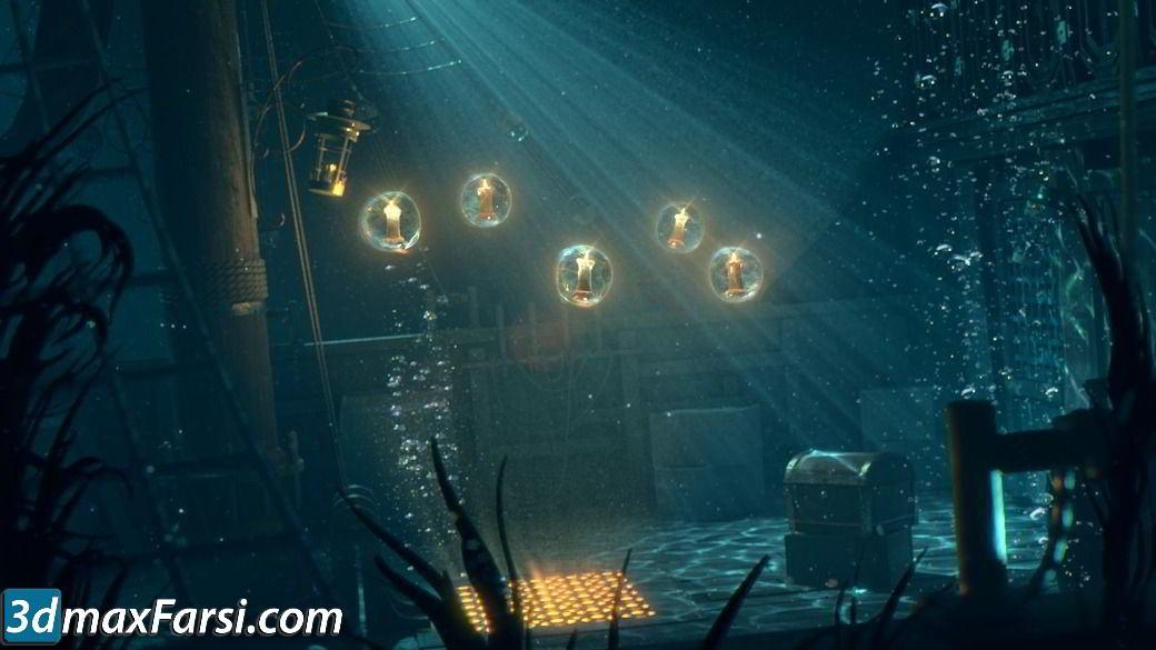 digital tutors Creating Cinematic Underwater Lighting in Maya free download