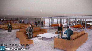 Creating Large Scale Interior Renderings in CINEMA 4D free download