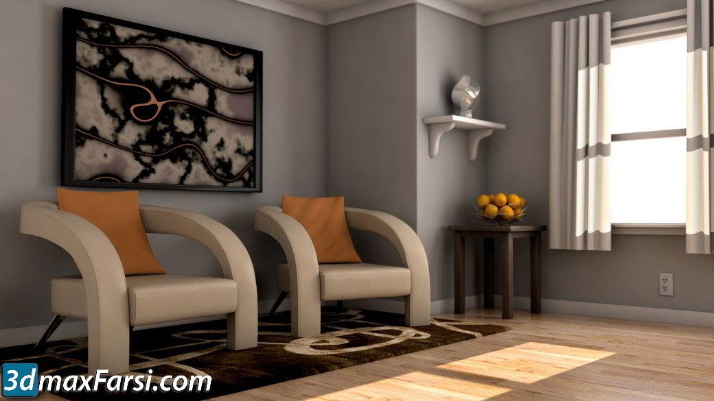 Rendering Interiors with V-Ray for Maya free download