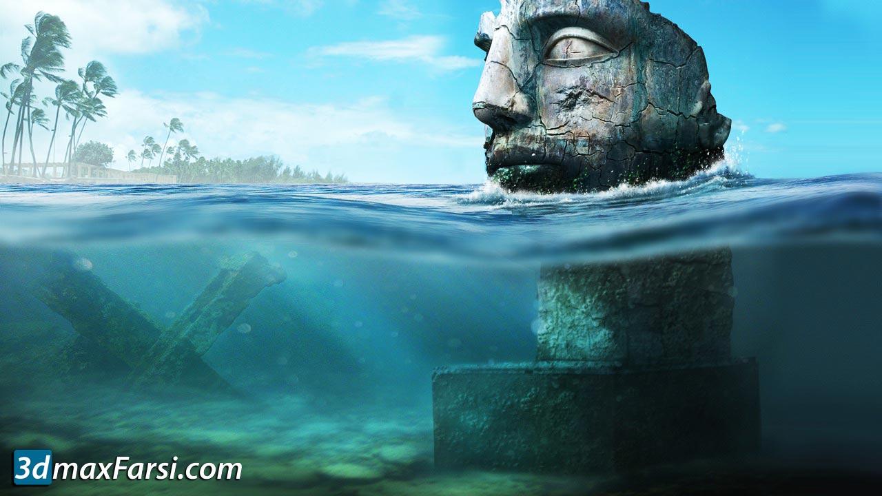 digital tutors Submerging a Scene Through Photo Manipulation free download