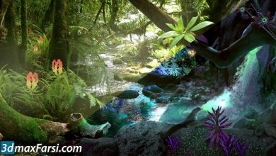 Transitioning Environments from Realistic to Fantasy free download
