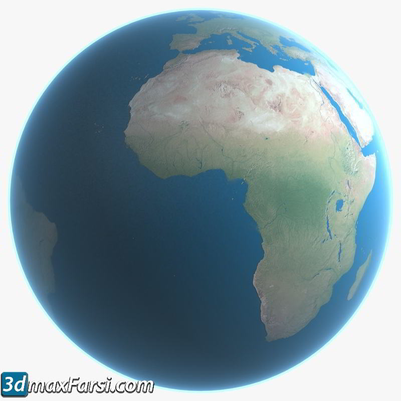 TurboSquid – 3D Earth Model (16K Resolution) free download