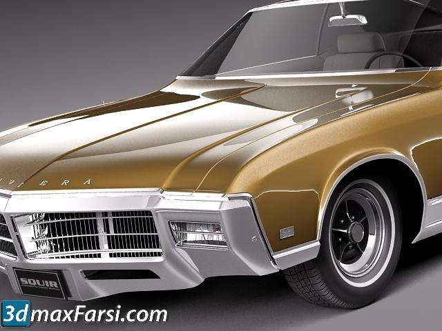 TurboSquid – Buick Riviera 1969 3ds Max, OBJ, FBX