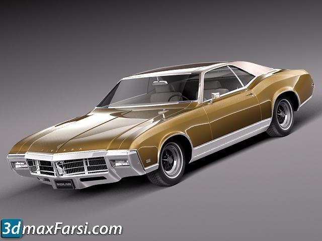 TurboSquid – Buick Riviera 1969 free download
