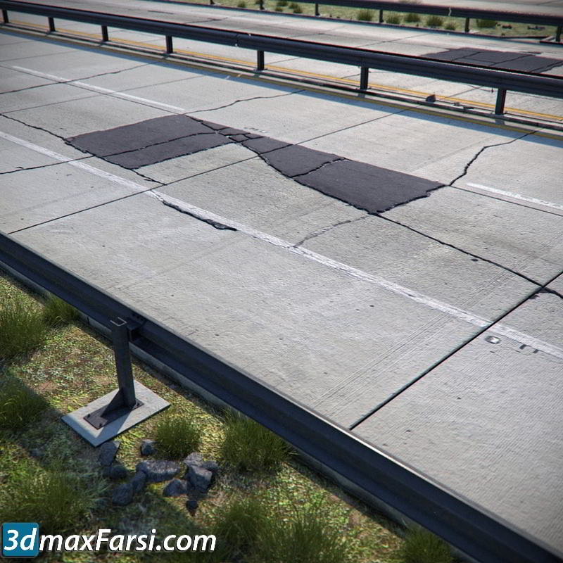 TurboSquid – Detailed Roads Collection free download