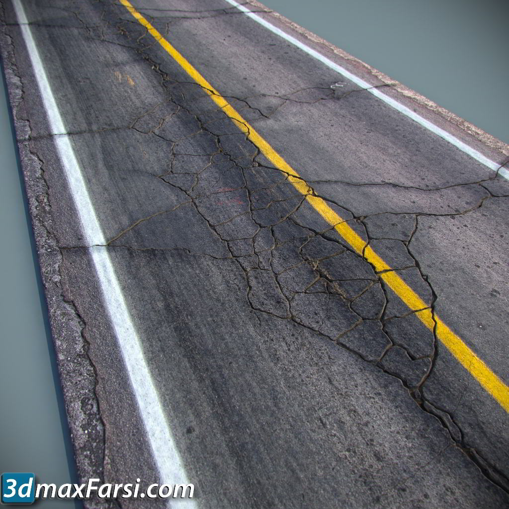 TurboSquid – Detailed Roads Collection download