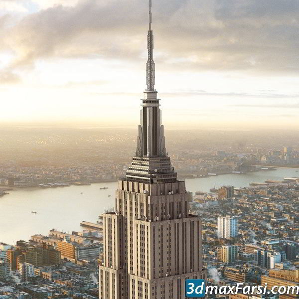 Turbosquid Empire State Building New York free download