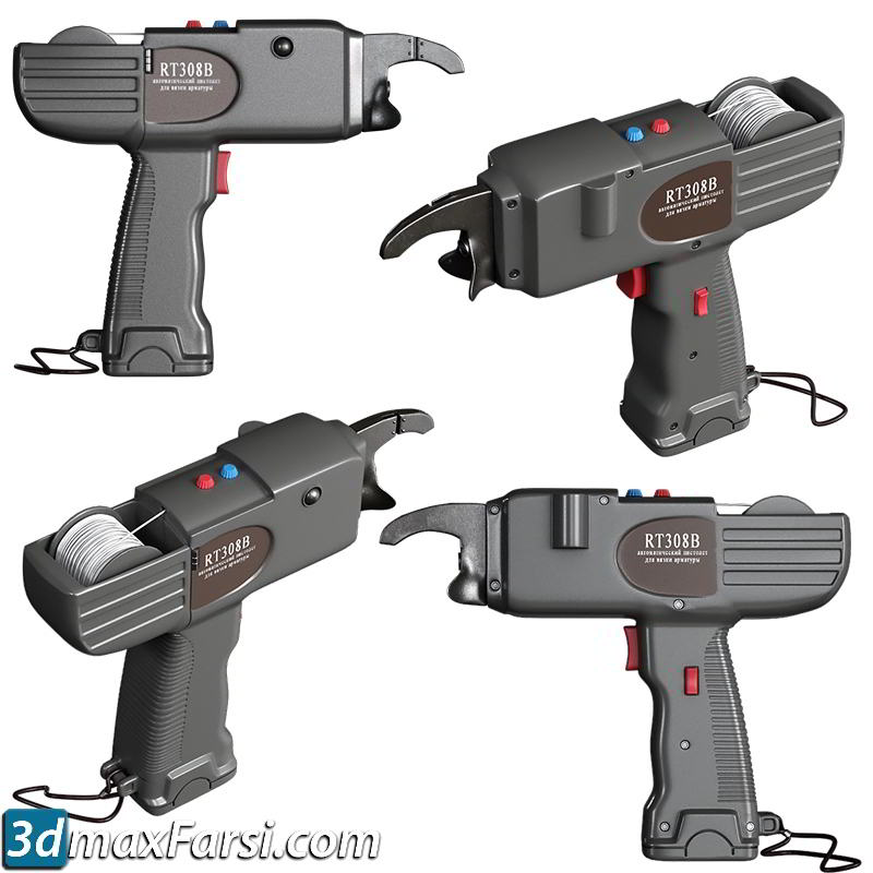 TurboSquid – Hand tools set 10 3D models free download