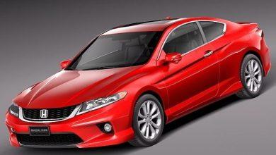 TurboSquid – Honda Accord Coupe 2013 free download