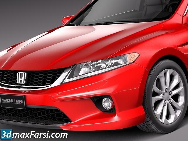 TurboSquid – Honda Accord Coupe 2013 3ds max vray