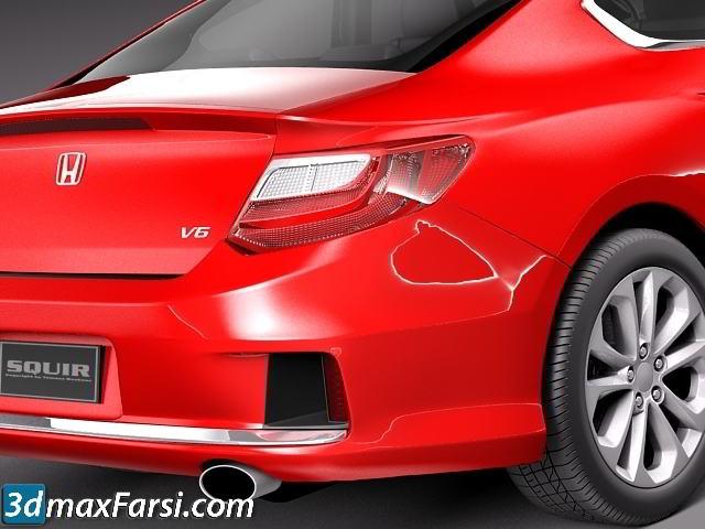 TurboSquid – Honda Accord Coupe 2013