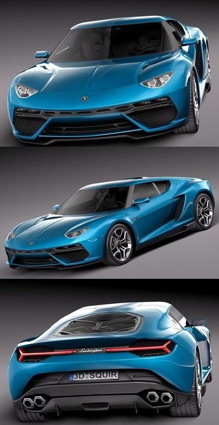 Lamborghini Asterion LPI 910-4 Concept 2014