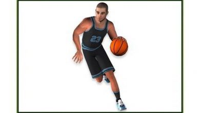 TurboSquid – White Basketball Player Animated – Game Ready free download